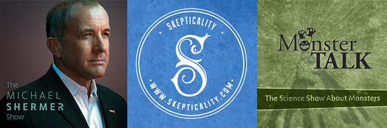 Skepticality and MonsterTalk logos
