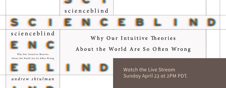 Watch the Live Stream Sunday April 23 at 2PM PDT