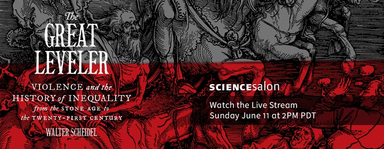 Watch the Live Stream of SCience Salon # 13 Sunday June 11, 2017 at 2PM PDT