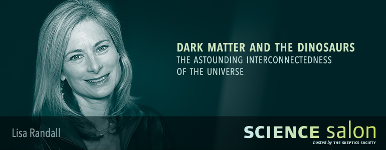Lisa Randall, November 22, 2015, SCIENCE Salon