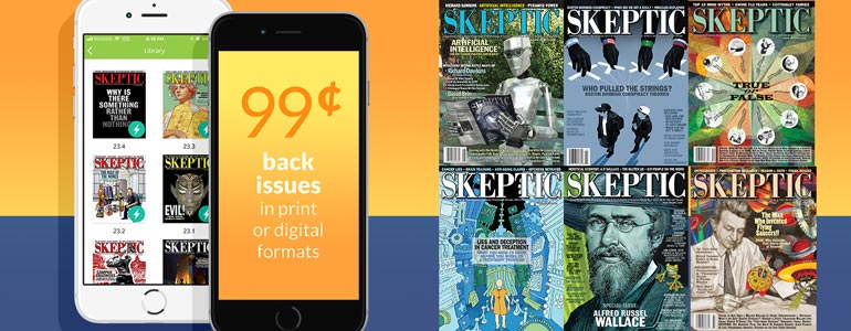 This weekend only! 99¢ back issues (in print or digital formats)