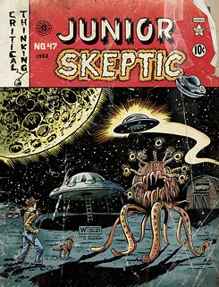 Junior Skeptic # 47 (cover), bound with Skeptic magazine issue 18.2