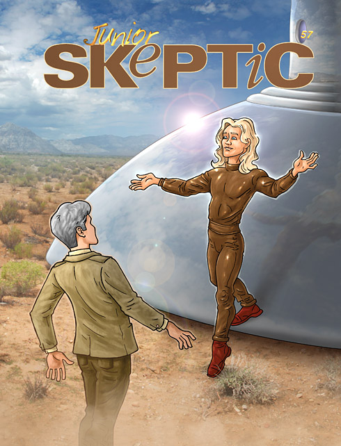 Junior Skeptic # 57 (cover)