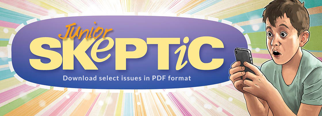 Download select issues of Junior Skeptic magazine in PDF format