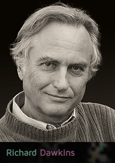 Richard Dawkins (photo by Lalla Ward)