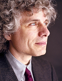 Dr. Steven Pinker (photo by Harry Borden)
