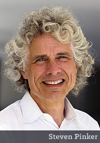 Dr. Steven Pinker (photo by Rebecca Goldstein)