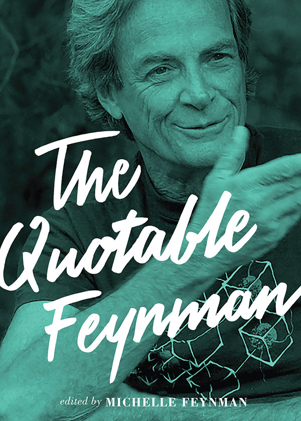The Quotable Feynman (book cover)