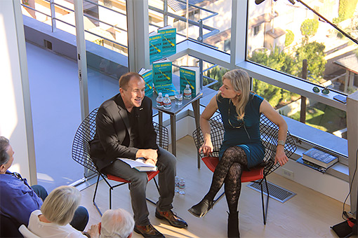 Lisa Randall in conversation with Michael Shermer at Science Salon, November 22, 2015