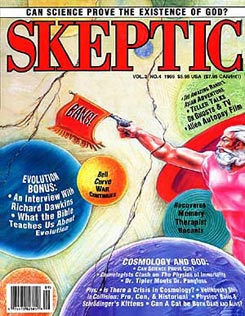 Skeptic » The Magazine » Volume 3 Number 4 Table of Contents