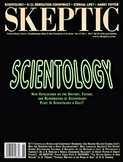 Skeptic Magazine 17.1: SCIENTOLOGY (cover)
