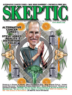 Skeptic magazine, vol 17, no 4 (cover)