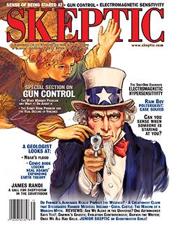 Skeptic magazine, vol 18, no 1 (cover)