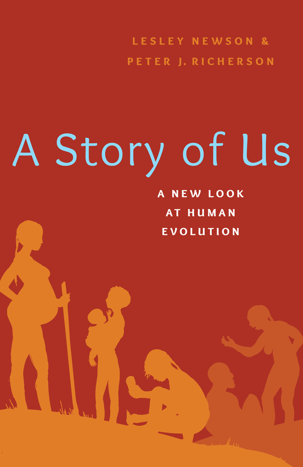 A Story of Us: A New Look at Human Evolution (book cover)