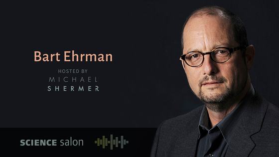 Bart Ehrman: How a Forbidden Religion Swept the World (Science Salon). Hosted by Michael Shermer