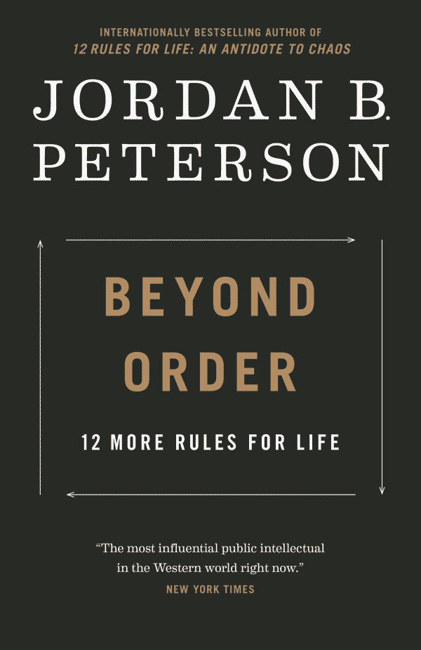 Beyond Order: 12 More Rules for Life (book cover)
