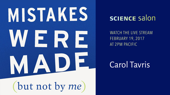 Science Salon: Carol Tavris