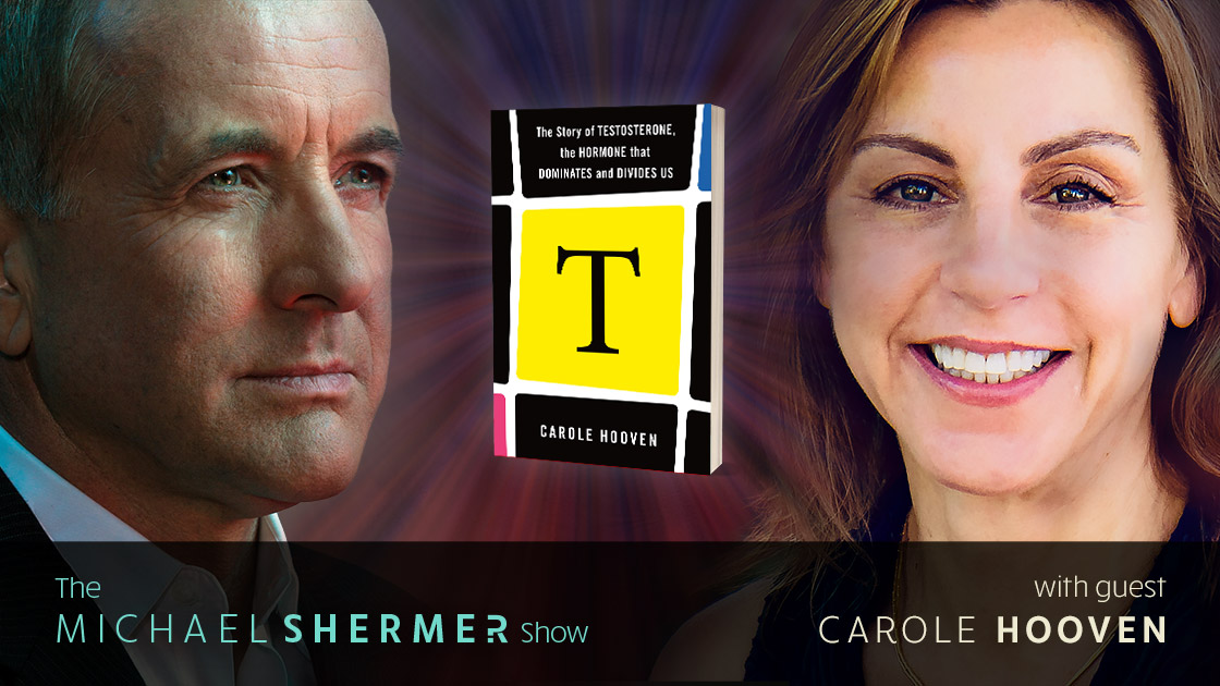 Michael Shermer with guest Carole Hooven