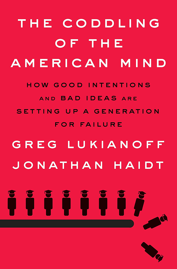 The Coddling of the American Mind (book cover)