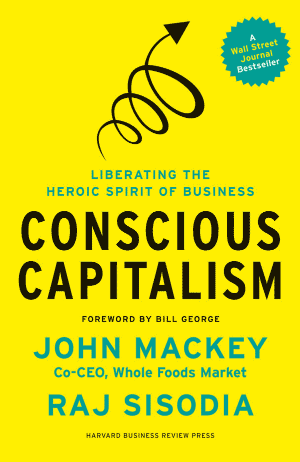 Conscious Capitalism (book cover)