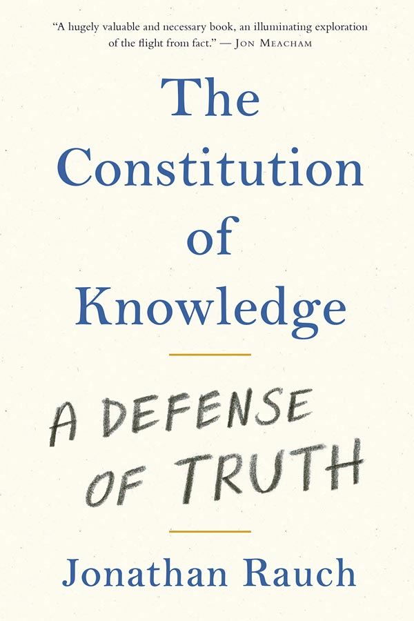 The Constitution of Knowledge: A Defense of Truth (book cover)
