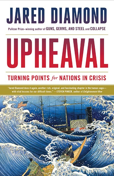 Upheaval: Turning Points for Nations in Crisis (book cover)