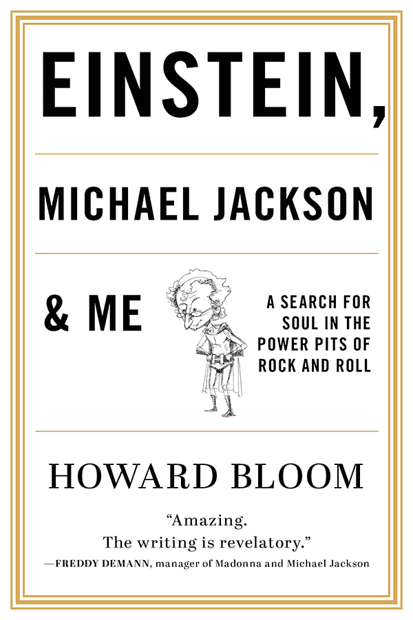Einstein, Michael Jackson, and Me (book cover)