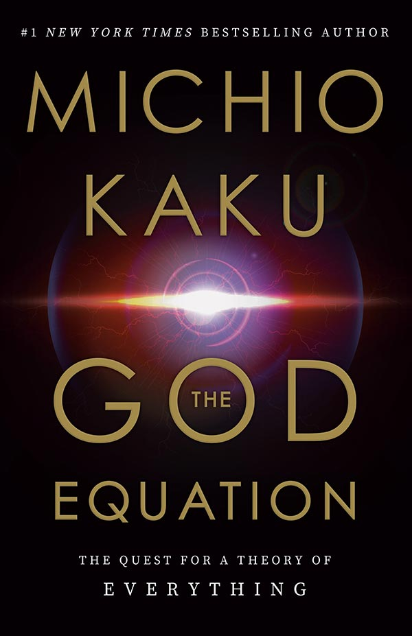 The God Equation: The Quest for a Theory of Everything (book cover)