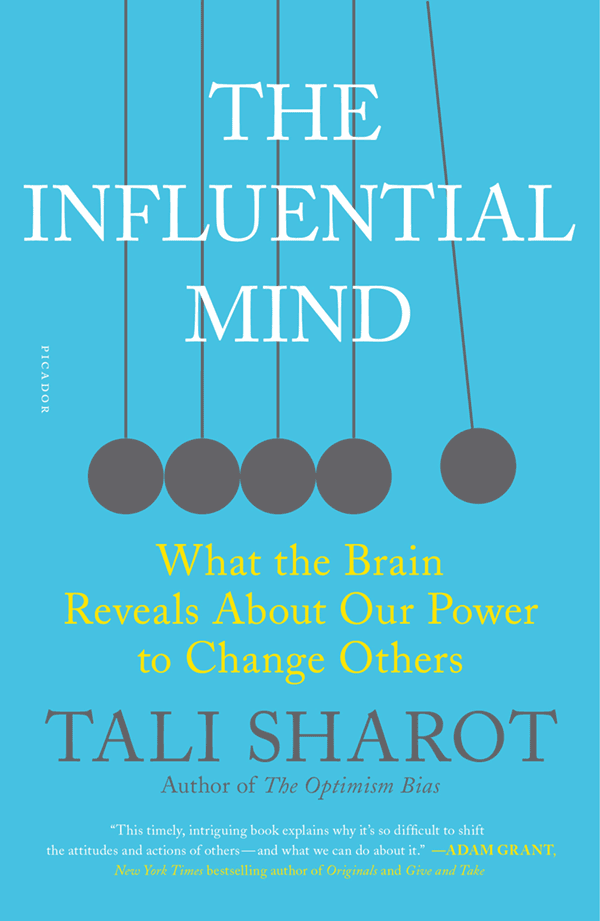 The Influential Mind (book cover)