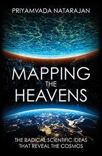 Mapping the Heavens: The Radical Scientific Ideas That Reveal The Cosmos (book cover)