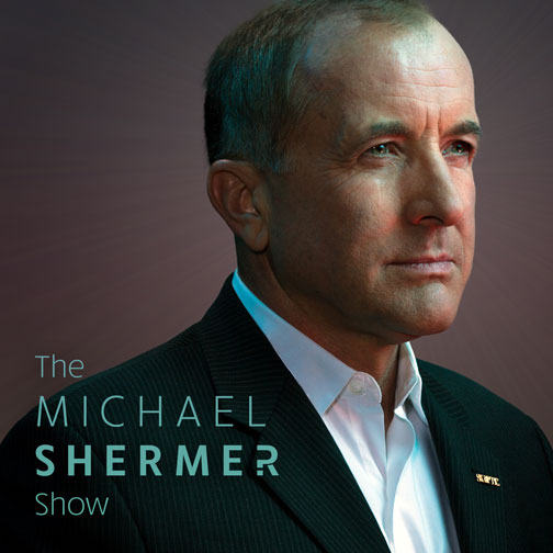 The Michael Shermer Show (portrait of Michael Shermer by Jeremy Danger)