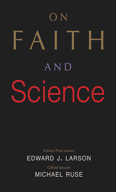On Faith and Science (book cover)