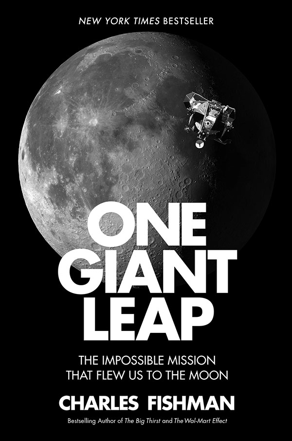 One Giant Leap: The Impossible Mission that Flew us to the Moon (book cover)