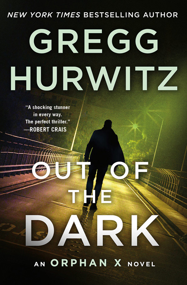 Out of the Dark: An Orphan X Novel (book cover)