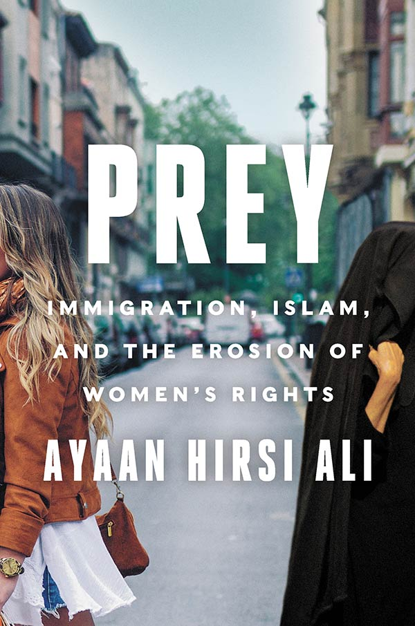 Prey: Immigration, Islam, and the Erosion of Womens Rights (book cover)