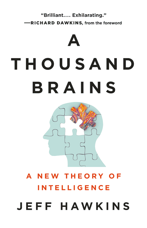 Thousand Brains: A New Theory of Intelligence (book cover)
