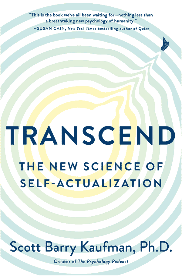 Transcend: The New Science of Self-Actualization (book cover)