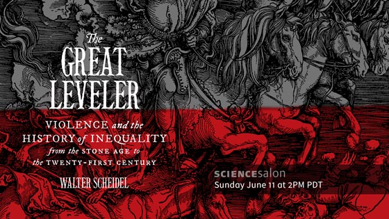 The Great Leveller | Science Salon # 13 | June 11, 2017 at 2PM PDT