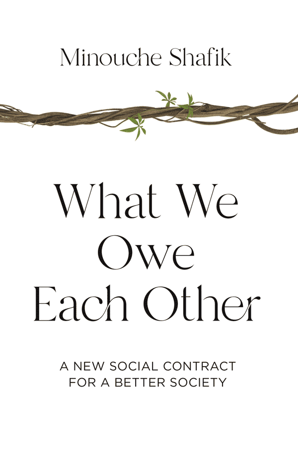 What We Owe Each Other: A New Social Contract for a Better Society (book cover)
