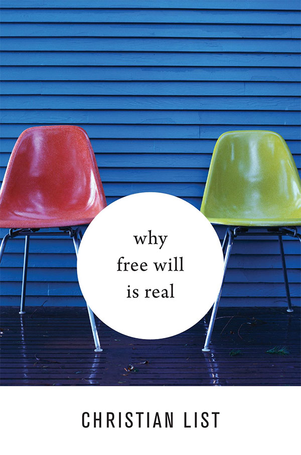 Why Free Will is Real (book cover)