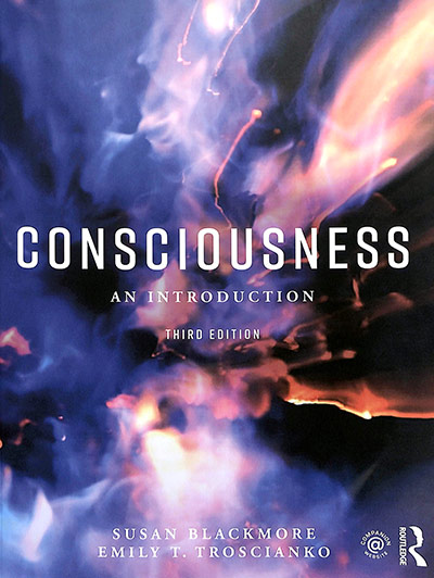 Consciousness: An Introduction, by Susan Blackmore (book cover)