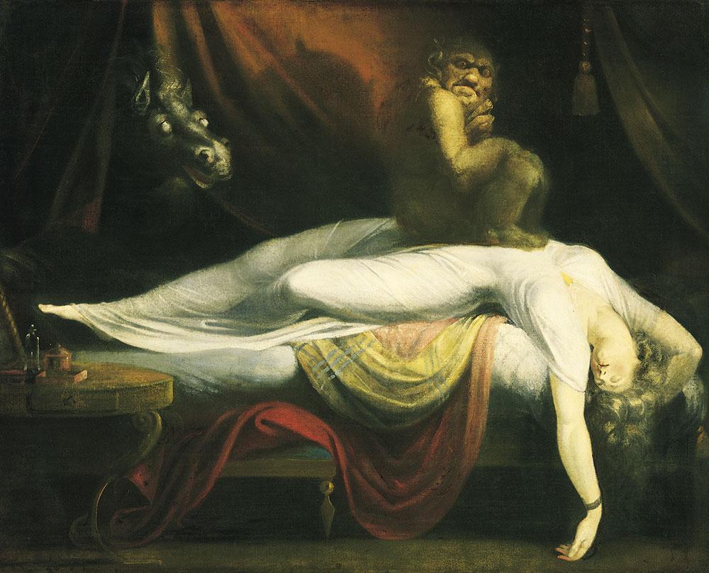 The Nightmare (by John Henry Fuseli