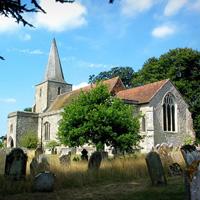 St. Nicholas Church, Pluckley (photo by Stephen Nunney [CC BY-SA 2.0], via Wikimedia Commons)