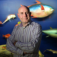 Neil Gemmell (photo copyright 2015, University of Otago)