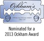 2013 Ockham Award Nominee