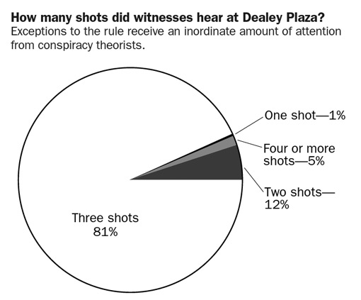 How many shots did witnesses hear?