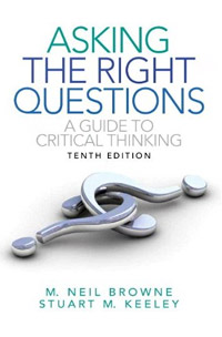 Asking the Right Questions: A Guide to Critical Thinking (book cover)