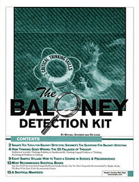 Baloney Detection Kit (book cover)