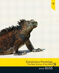 Evolutionary Psychology: The New Science of the Mind (book cover)