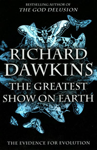 The Greatest Show on Earth: The Evidence for Evolution (book cover)